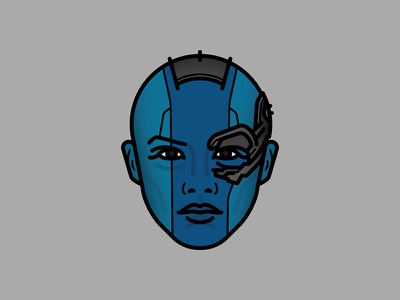 It's not ripe... villains vector movies mcu marvel illustration icon heroes nebula