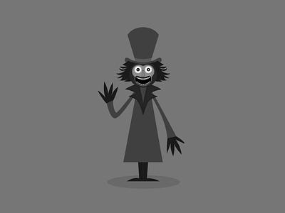 Babadook character design vector art cartoon fun character artist graphic halloween vector illustration design dribbbleweeklywarmup