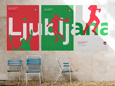 Ljubljana Sport City  ljubljana sport poster