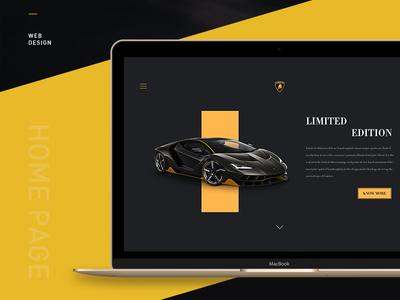 Lamborghini web