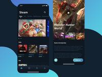 Game platform interface