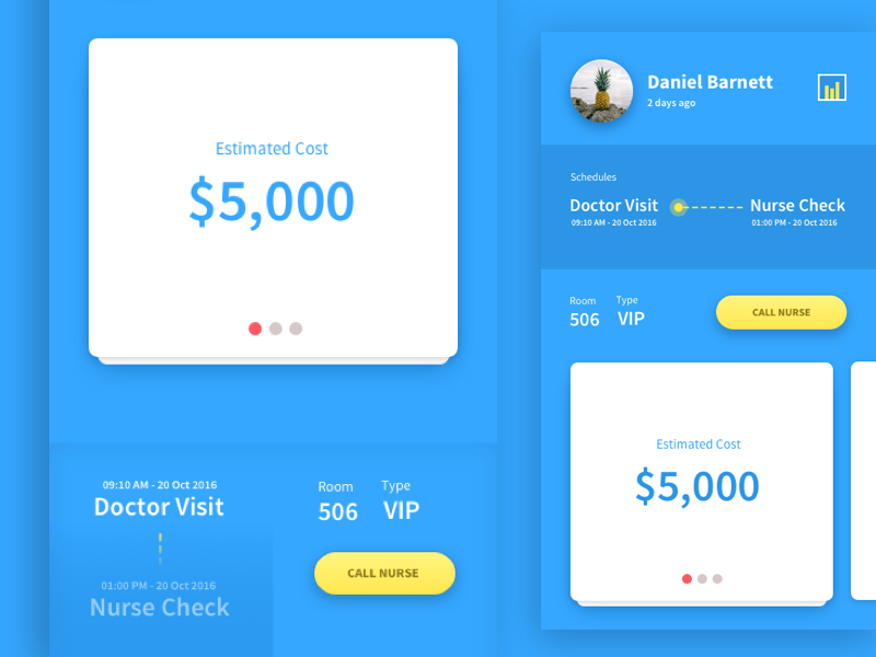 InOut Hospital - Admission Helper by Angga on Dribbble