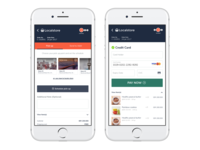 Online to offline checkout page design