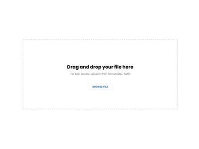 Simple progress bar for file uploader