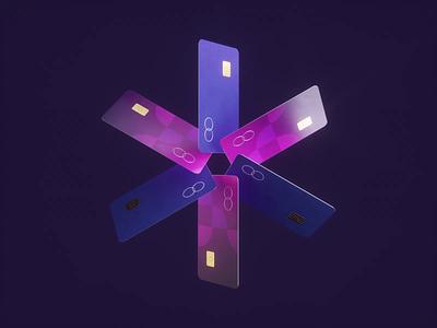 Next gen Cards banking creditcard art design web branding logo motion graphics graphic design 3d animation ui
