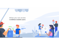 Landing page Inmobi - illustration