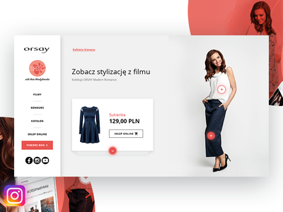 ORSAY with Ania Wendzikowska clothes fashion page instagram photos clean