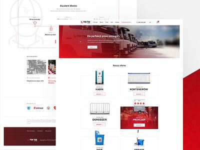 E-commerce platform for ToiToi - overview toitoi design ux ui website ecommerce platform