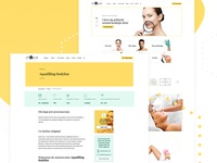 Website for aesthetic medicine clinic - overview