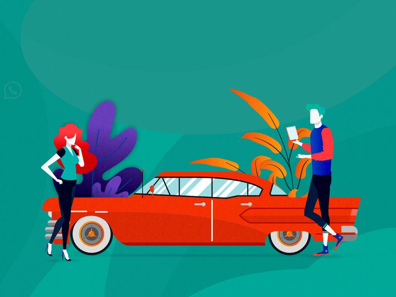 Booking car simple bookingcar car booking booking app photoshop adobe illustrator vector design illustrator social media design