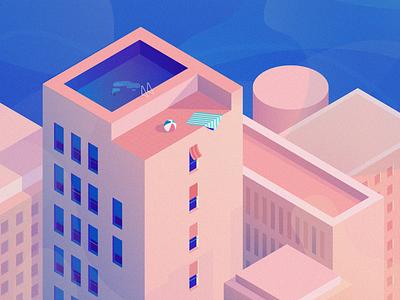 Goodbye Summertime design illustration