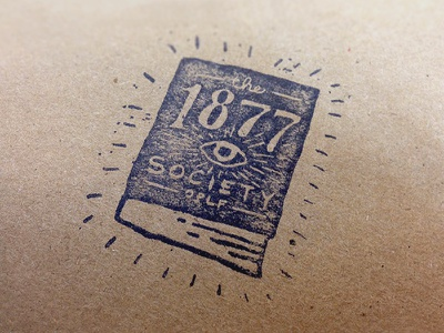 1877 Society logo logo book eye omaha public library