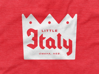 Little Italy omaha italy little crown shirt