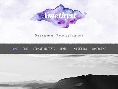 New WordPress theme web design website wordpress theme