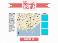 Kiss Map Website - in progress