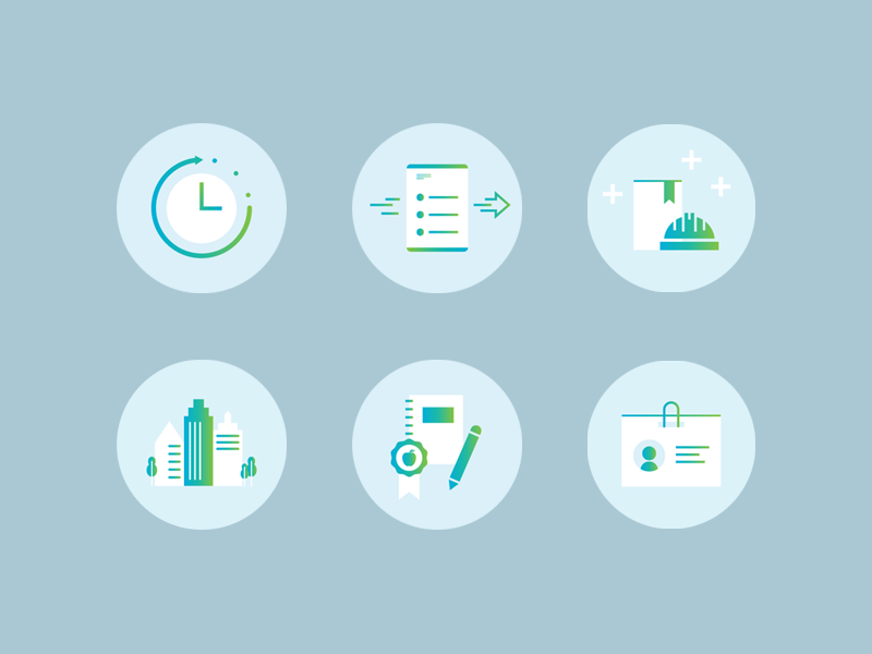 Mile27 dribbble icons