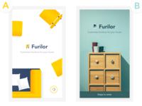 [Splash Screen] Furniture App 01