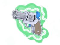 [Illustration - Style 03] Retro Gun