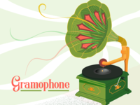 [Illustration] Gramophone