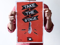 Take the Stage Poster