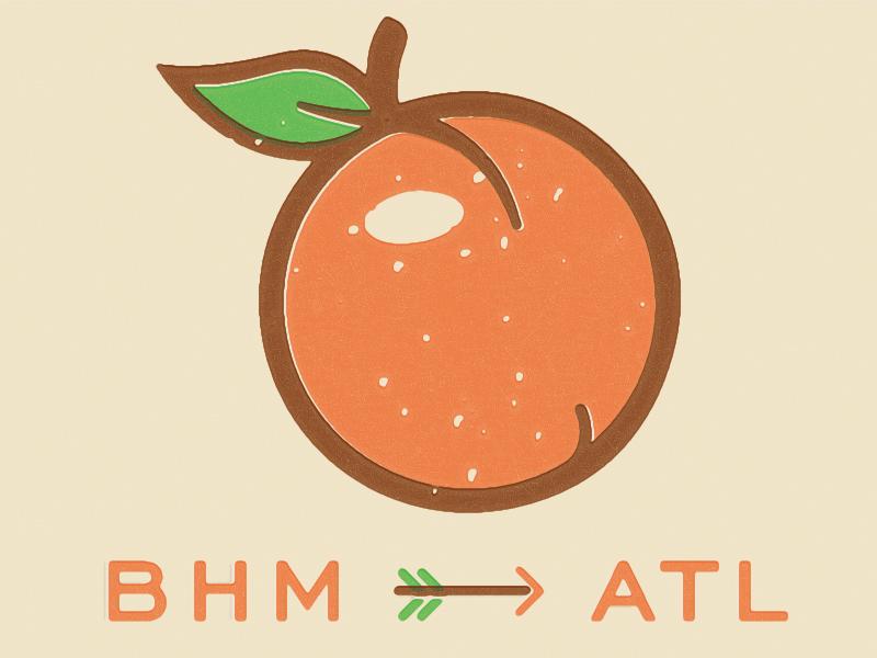 Peachez arrow peachy peaches peach hotlanta atl atlanta moving