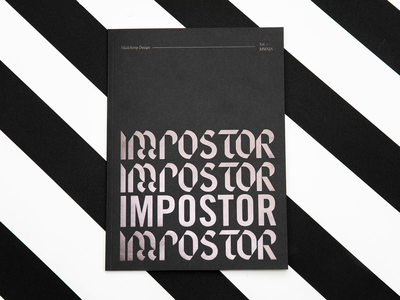 Impostor Syndrome Book Collaboration collaboration print impostor syndrome impostor texture design illustration book mailchimp