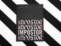 Impostor Syndrome Book Collaboration collaboration print impostor syndrome impostor texture design illustration book mailchimp