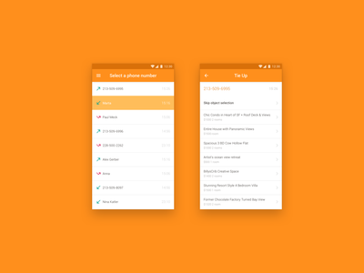 Mobile app Kvadroteka ui realty mobile app screen ui design android android app sales customer support customer service dashboard admin app mobile ui design mobile ui mobile
