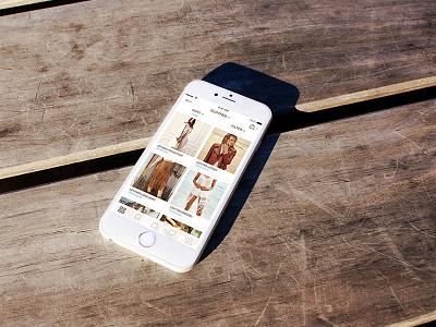 E-commerce Mobile App iphone6 ios store shop ecommerce design ux ui app mobile