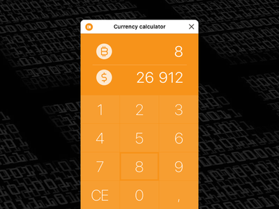 Currency calculator cryptocurrency crypto currency crypto exchange crypto bitcoin exchange bitcoin bots calculator ui calculator app calculator design exchange currency exchange currency converter facebook bot facebook bot bitcoin ux ui calculator currency