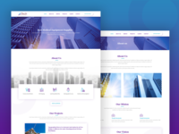 Corporate Website Design for Civil Firm
