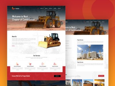 Web Design for Construction Company