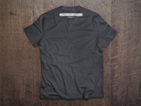FirefoxOS - System Front End T-Shirt (back)