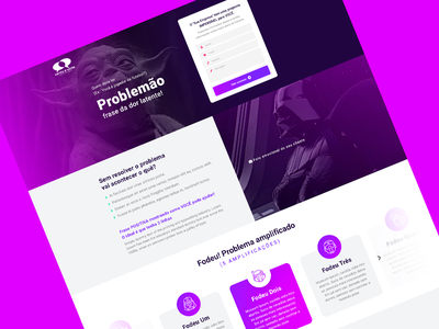 Landing Page Template uxdesign ux ui uidesign homepage site lp landing page