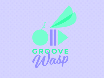 Groove Wasp by Gina Roberson Tew via dribbble