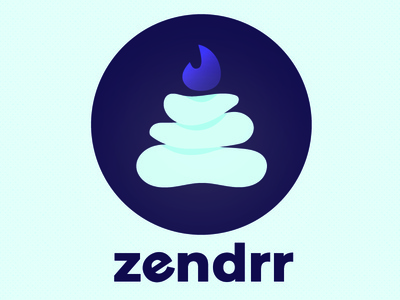 Zendrr by Gina Roberson Tew via dribbble
