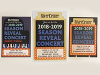 RiverCenter Season Reveal Invitations