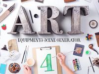 Art Equipments Scene Generator V4