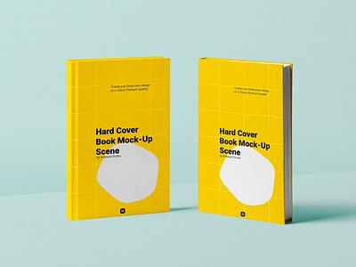 Hard Cover Book Mockup artboard studio book cover mockup book cover cover book design presentation branding mockup