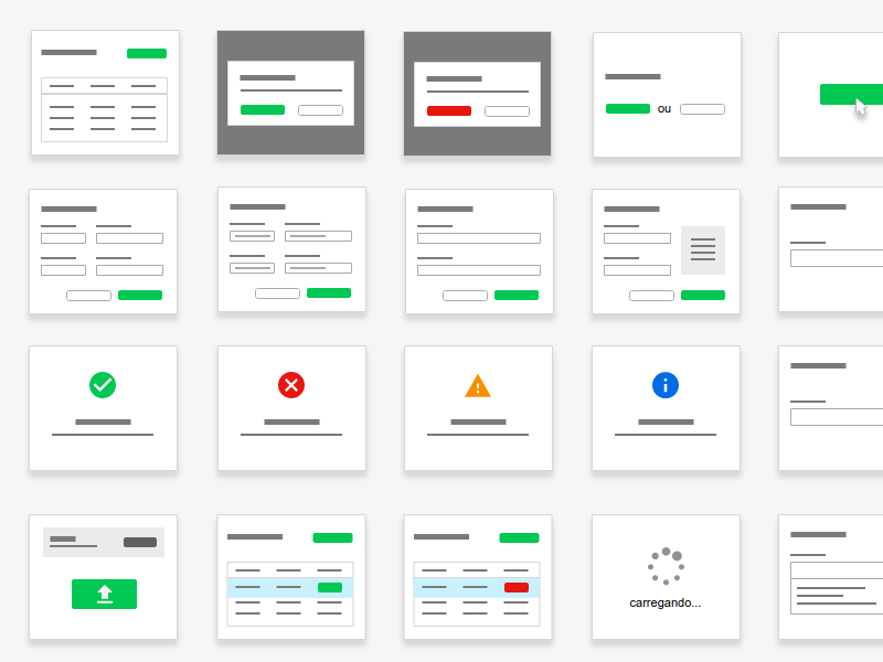 Elements for User Flow interaction design ux design user flow mockup prototyping ui elements ux elements ux