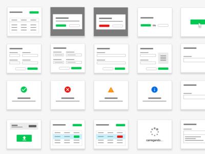 Elements for User Flow interaction design ux design user flow mockup prototyping ui elements ux elements ux