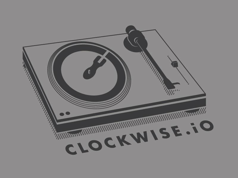 DJ Clockwise namm vinyl turntable