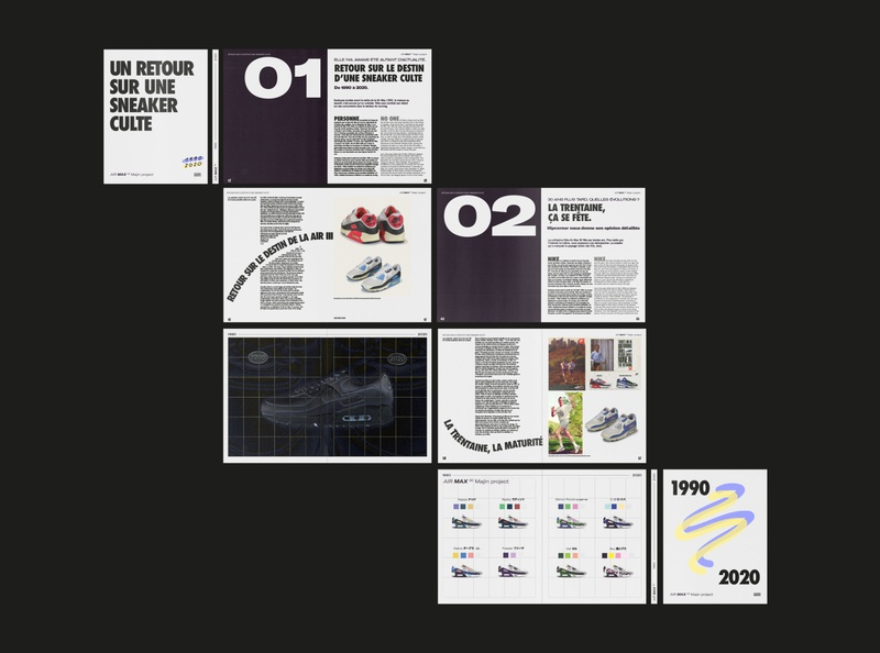 AIR MAX ANNIVERSARY_BOOK branding graffiti illustration nike air max nike layout edition teaser logo typography
