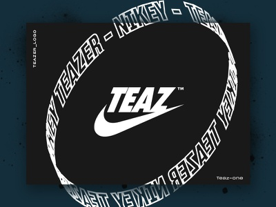 Teaser_Logo logo logotype nike parody teaser teazer tag spray lettering graffiti blaze