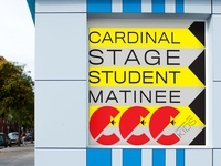 Geometric Directional Sign, Cardinal Stage Company