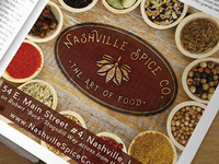 Advertisement, Nashville Spice Company