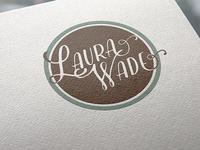 Personal Logo draft: Laura Wade