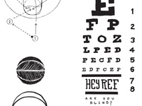 eye charts & basketball
