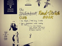 Sketchbook: Book Club Idea