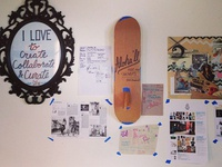 Studio //: work wall
